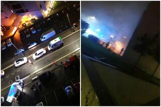 Milano, locale rifiuti in fiamme e palazzo invaso dal fumo: 40 persone evacuate, quattro in ospedale