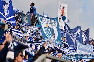 Brescia, tensione e scontri tra gruppi di tifosi prima del derby con l'Atalanta