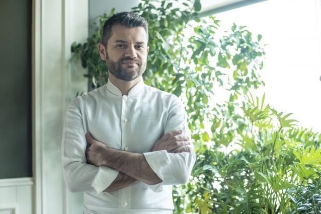 Lo chef Enrico Bartolini al Mudec