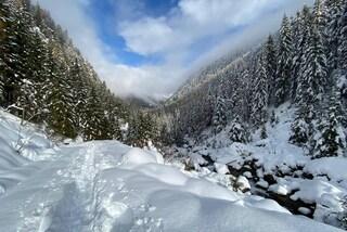 Maltempo, in Lombardia allerta per nevicate abbondanti: rischio valanghe in montagna
