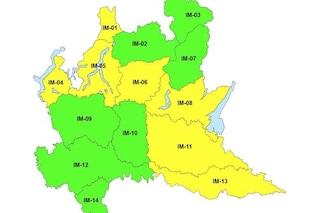 Allerta meteo gialla in Lombardia: in arrivo vento forte, pioggia e abbondanti nevicate