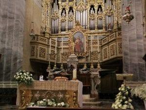 La chiesa di San Giovanni Battista a Pieve di Lumezzane (FOto dal sito web)
