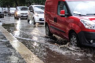 Maltempo, chiuse due uscite della tangenziale Est di Milano a causa delle forti piogge