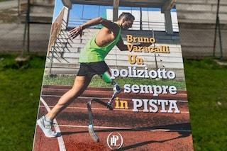 Un poliziotto sempre in pista: la storia di Bruno Varacalli, primo agente amputato, diventa un libro