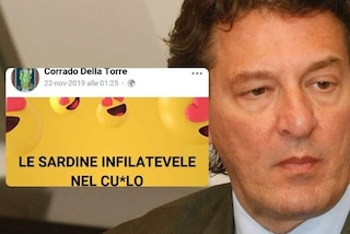 """Il movimento delle Sardine insultato dal direttore dell'Aler di Brescia: """"Infilatevele nel c..."""""""