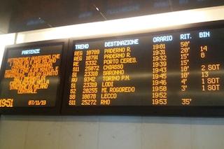 Guasto alla stazione Centrale: nodo ferroviario di Milano in tilt, caos e ritardi su tutte le linee