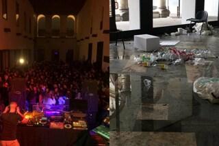 """Halloween, festa non autorizzata alla Statale di Milano. La foto denuncia del rettore: """"Uno sfregio"""""""