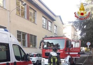 Busto Arsizio, incendio in un condominio di via Vittorio Alfieri: forse causato da una stufa