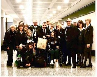 Bergamo: è tornata a casa Leti, la ragazza operata negli Usa grazie a una campagna di solidarietà