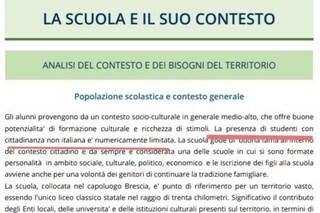 """Brescia, la scuola si vanta: """"Nel nostro liceo pochi stranieri"""". E scoppia la polemica"""