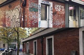 Milano, iniziativa anti-degrado: volontari ripuliscono il mercato comunale di piazza Fusina