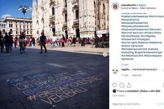 Gessetti sui marciapiedi e Instagram: la lotta contro le molestie verbali per strada sbarca a Milano