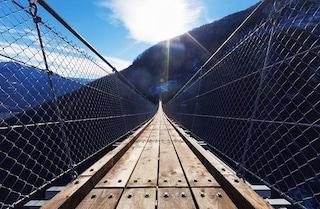 Dossena, il ponte tibetano più lungo d'Europa sarà nelle valli bergamasche
