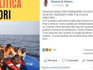 Il post del sindaco di Sesto San Giovanni, Roberto Di Stefano