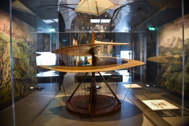 36 proiettori Sony per l'esperienza multimediale delle Nuove Gallerie Leonardo da Vinci