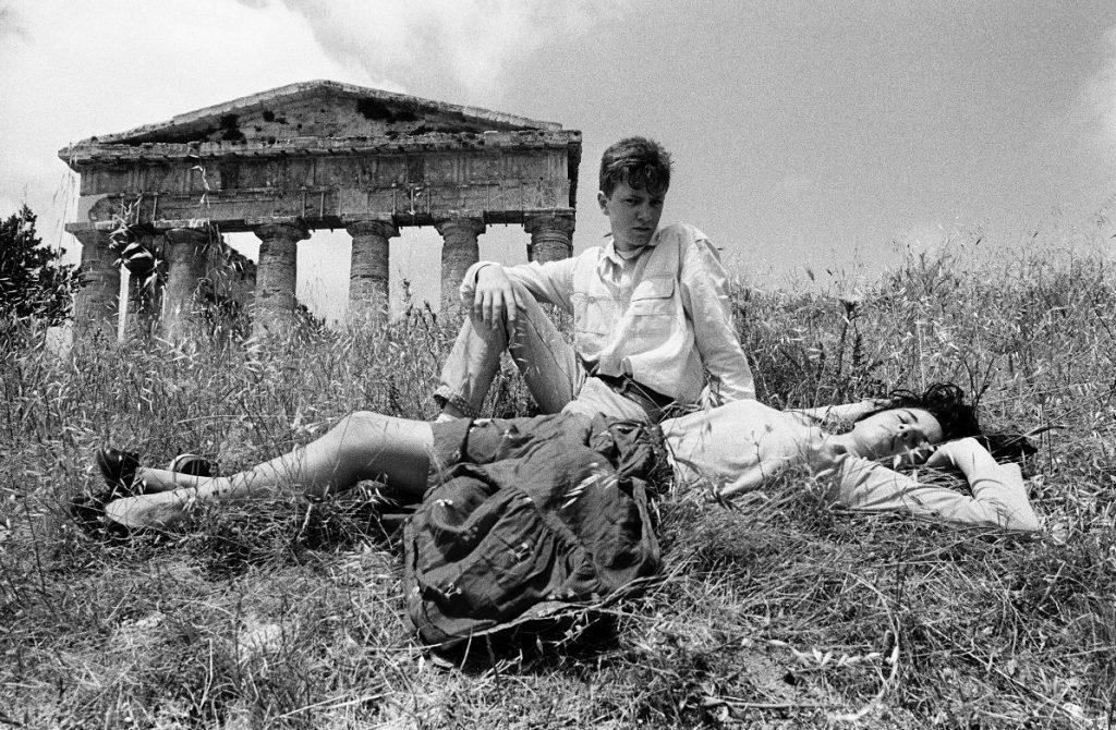 Letizia Battaglia, Il Tempio di Segesta, 1986