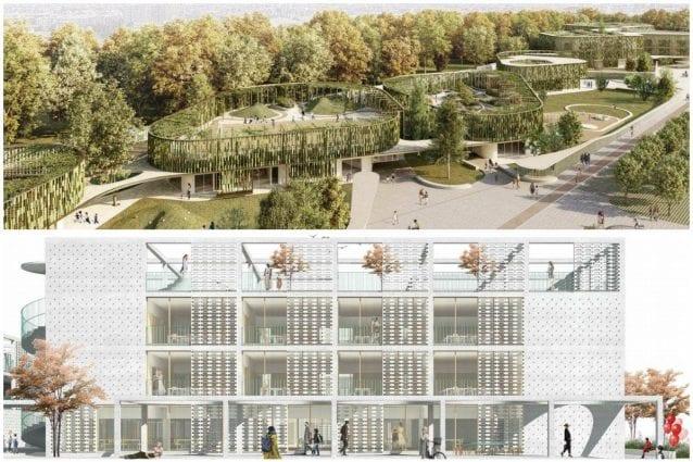 Milano Scuola Parco Giardini Sui Tetti E Terrazze I
