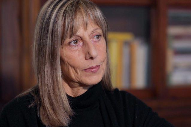Silvia Pinelli, una delle due figlie dell'anarchico Pino