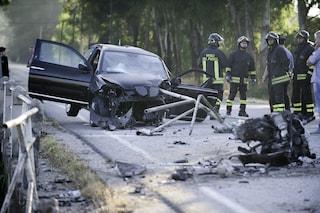 Incidente tra tre auto all'alba a Bozzolo: tre feriti, grave una donna soccorsa con l'elicottero