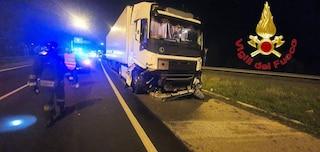 Seriate, si mette al volante di un camion al limite del coma etilico e fa un incidente: denunciato