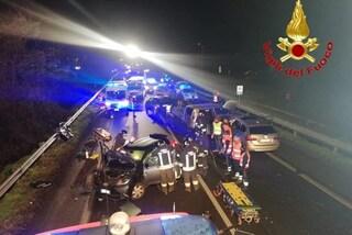 Incidente a San Giuliano Milanese, scontro fra quattro auto: quattro feriti