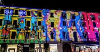 Lo spettacolo delle luci di Natale a Lecco: boom di visitatori
