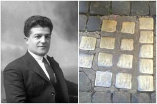 Milano, pietra d'inciampo per Andrea Schivo: agente di San Vittore deportato perché aiutò gli ebrei