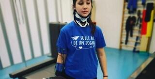 """Leti torna a camminare: """"Vivete con coraggio anche quando la difficoltà vi rende fragili"""""""