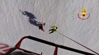 Lecco, vigili del fuoco salvano alpinista bloccato sul monte Grigna a oltre 2000 metri d'altezza