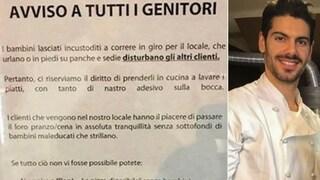 """Villa di Tirano, il titolare del ristorante: """"Lasciate a casa i bambini maleducati"""""""