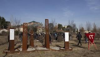 Monza, colpito simbolo antifascista: vandalizzato il Bosco della Memoria