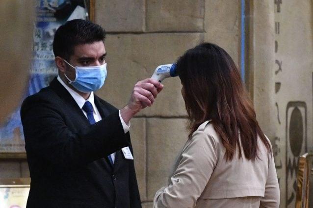 Controlli in Cina per il coronavirus
