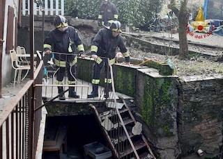 Frana a Borgo Priolo, nell'Oltrepò pavese: dichiarate inagibili una strada e 4 abitazioni