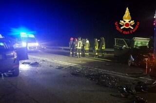 Grave incidente stradale a San Giuliano Milanese: padre, madre e figlia di 2 anni in ospedale