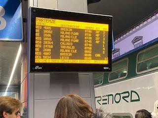 Treni, oltre allo sciopero anche i guasti: mattinata nera per i pendolari a Bergamo