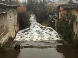 Sversamenti di liquami nella Bassa Bresciana, indagini in corso – Foto Facebook