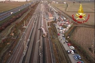 """Treno Frecciarossa deragliato, il prefetto di Lodi: """"Poteva essere una carneficina''"""