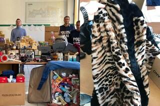 Milano, sequestro di merce per 20mila euro al mercato di viale Puglie: prodotti rubati