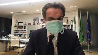 """Coronavirus, Ricciardi contro Fontana: """"La mascherina è totalmente inappropriata, genera paura"""""""