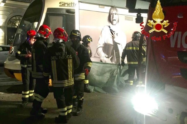 Il luogo dell'incidente in piazza Oberdan a Milano