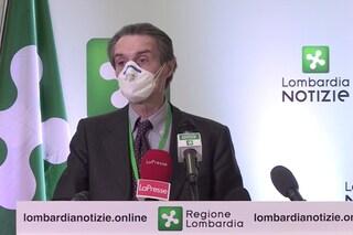 """Coronavirus in Lombardia, Fontana: """"Penso che stia per iniziare la discesa dei contagi"""""""