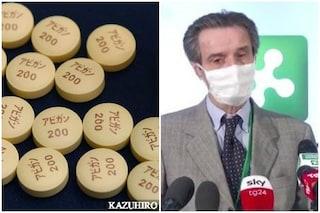 """Coronavirus in Lombardia, Fontana: """"Iniziamo la sperimentazione con farmaco Avigan"""""""