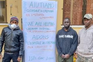"""A Cremona i rifugiati raccolgono fondi per l'ospedale: """"Aiutiamo l'Italia contro il coronavirus"""""""