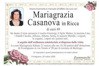 """Coronavirus, l'addio alla cassiera morta a 49anni a Brescia: """"Eri buona e solare"""""""