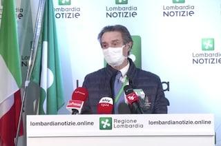"""Coronavirus, Fontana: """"Rallentamento contagi, ma non mollare la presa"""". Slitta ospedale in fiera"""