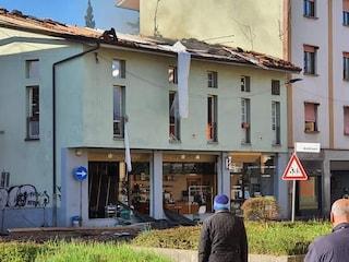 Forte esplosione a Seriate, palazzina sventrata: un morto e due feriti