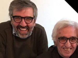 Luca Fusco e il papà, morto per Coronavirus (Facebook)