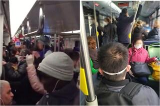 Coronavirus, metro ancora piene e bus affollati: così Milano rischia di perdere la sua battaglia