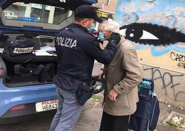 (Foto Fb: Polizia di Milano)