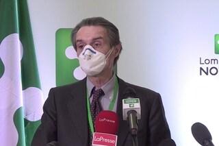 """Lombardia, per le riaperture si decide giovedì. Fontana: """"Valutazione dopo dati su contagio"""""""